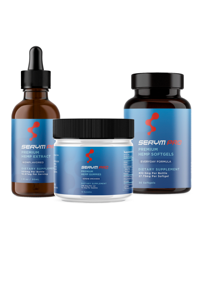 CBD Edibles and Capsules | CBD Products | Serym Pro
